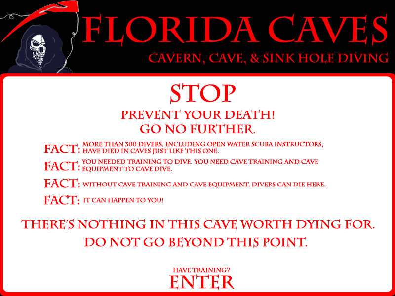 Florida Caves by Dayo Scuba Orlando Florida